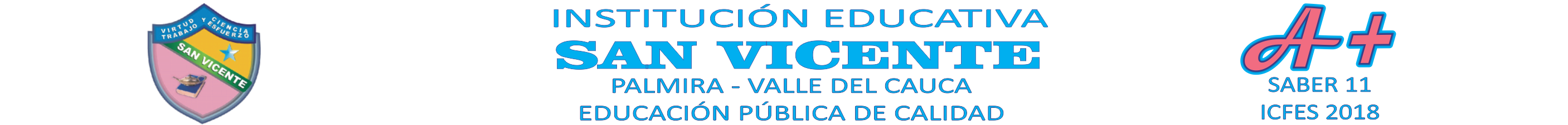 INSTITUCION EDUCATIVA SAN VICENTE